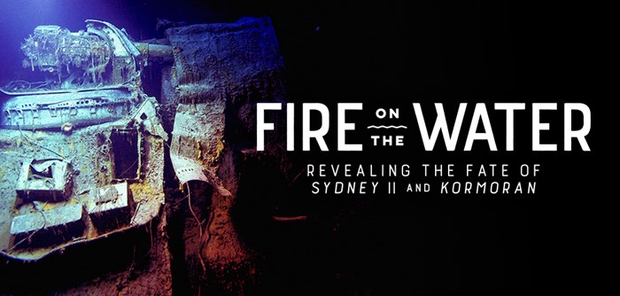 Fire on the Water Exhibit